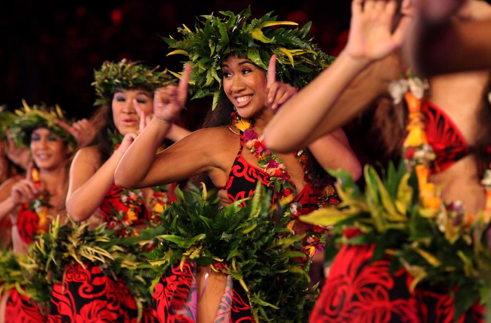 Un spectacle de danse polynésienne – photo1